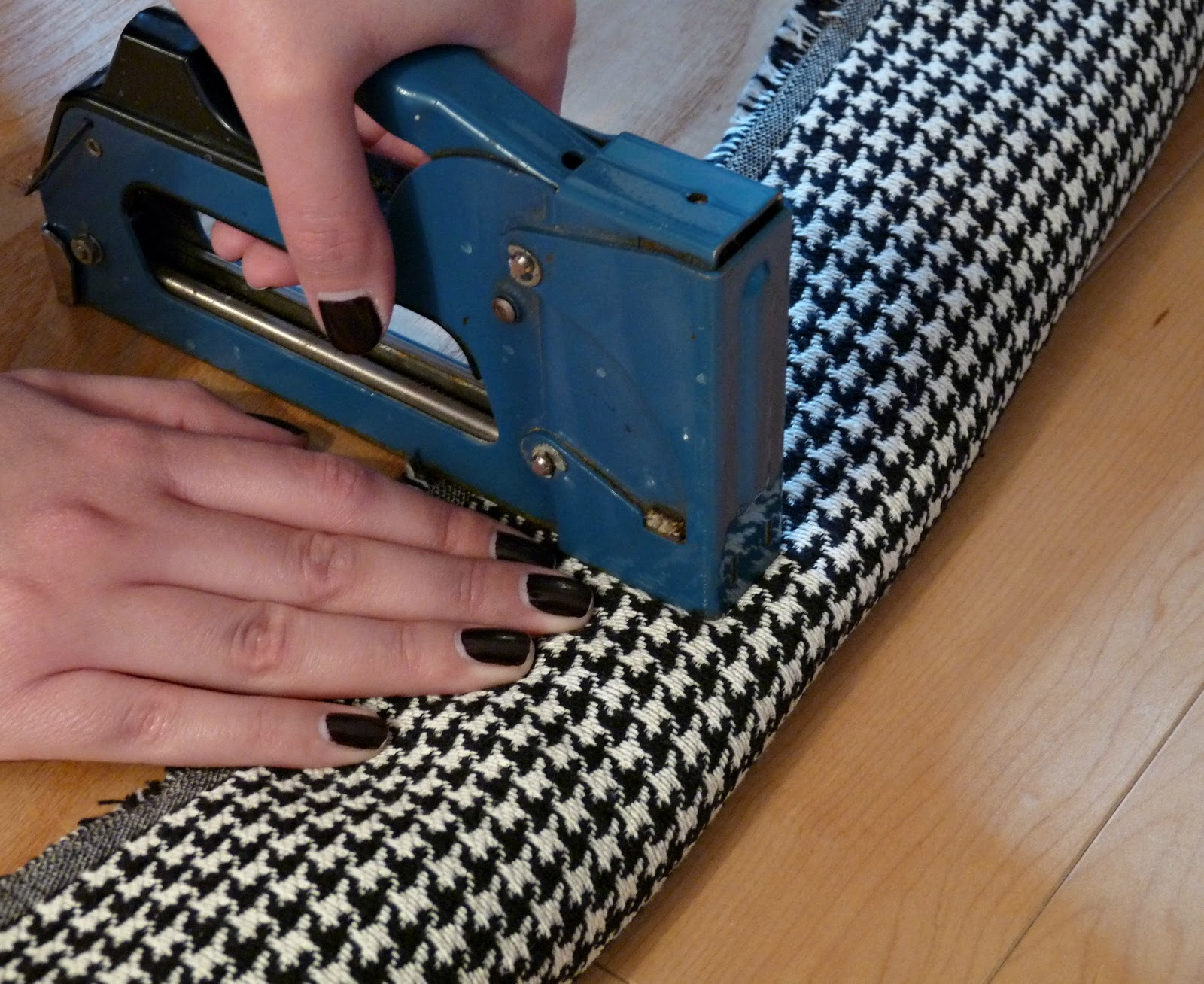 How to Reupholster a Dining Room Chair Seat // Tips and Tricks for DIY Upholstery