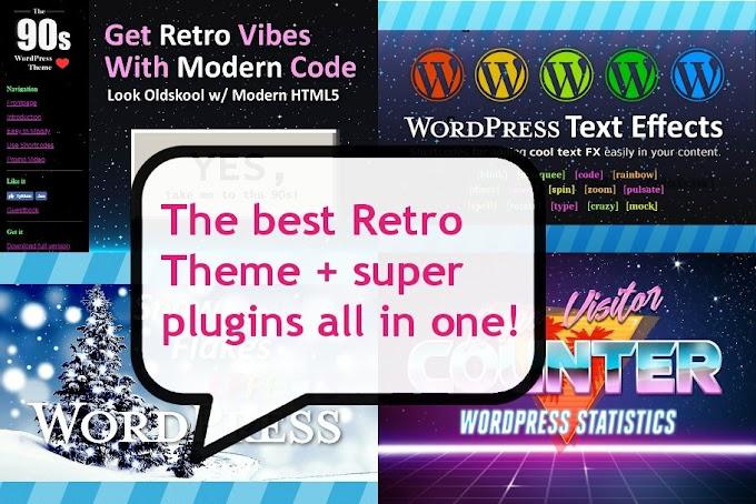 Bundle: Retro Theme + Plugins