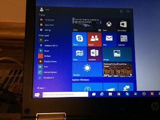 New Start Menu on Windows