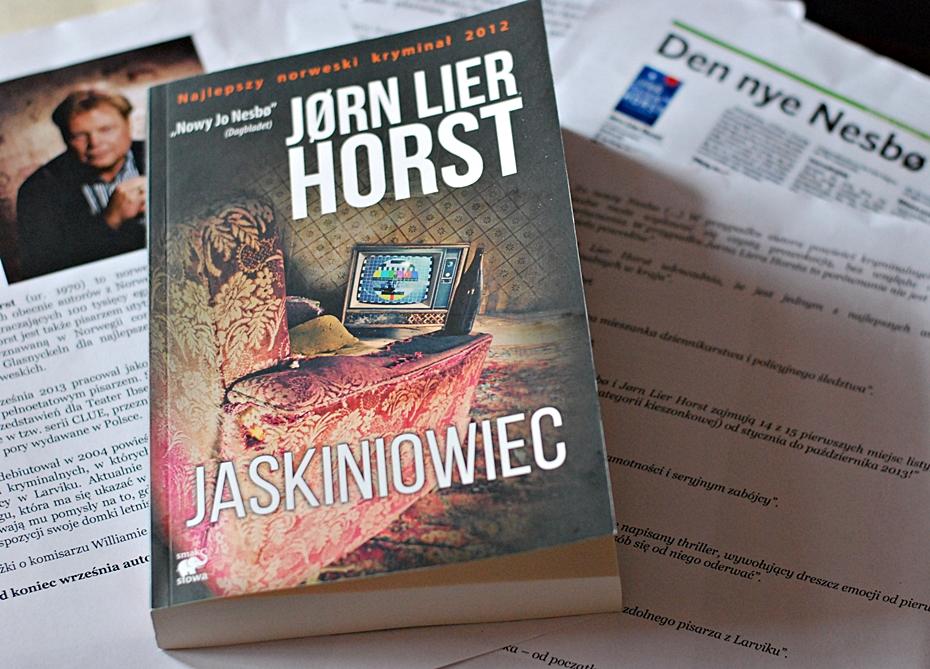 """Jørn Lier Horst """"Jaskiniowiec"""""""