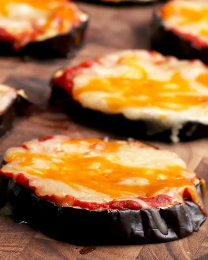 ★★★★★ |   Eggplant Pizza