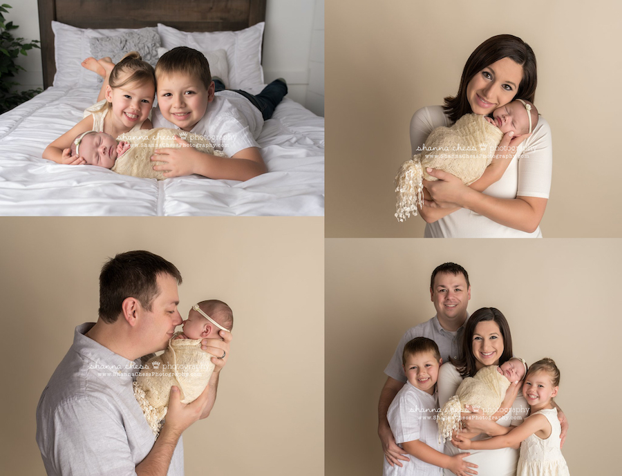 eugene oregon newborn and family photographer