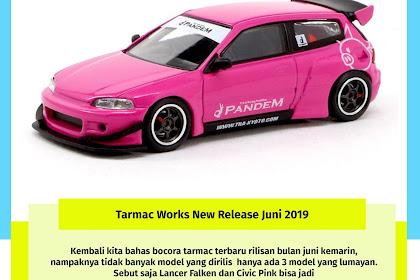 Tarmac Works New Release Juni 2019