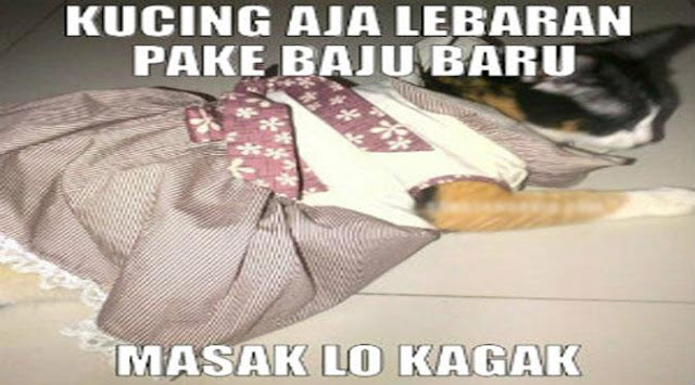 23 MEME Lebaran Ini Asliiiii LUCU.., Liat Kalo Nggak Percaya.