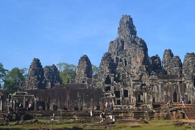 angkor thom wat siem reap cambodia kamoboja asia
