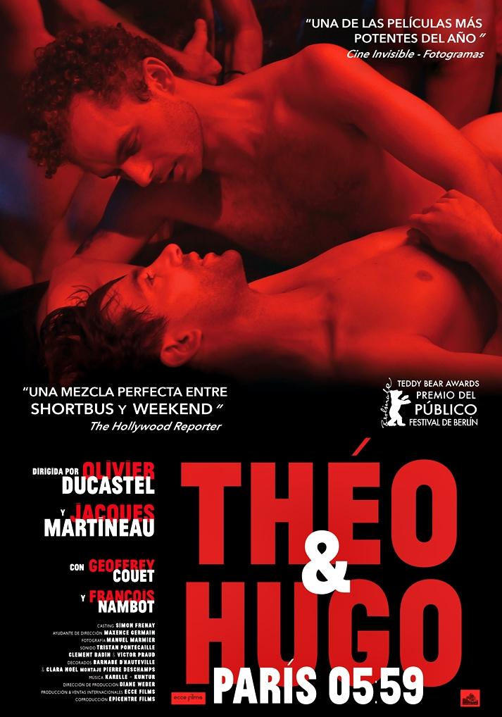 Póster: Theo y Hugo, París 5:58