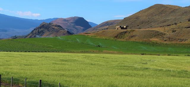Farm land Cariboo Highway
