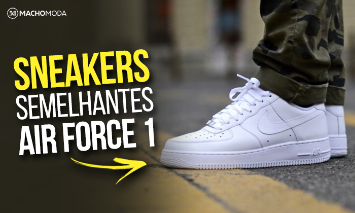 8863858270 Macho Moda - Blog de Moda Masculina  NIKE AIR FORCE 1  5 Sneakers ...