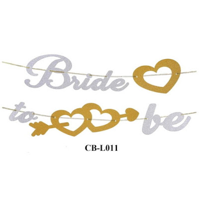 Bunting Garland Bride To Be CB-L011