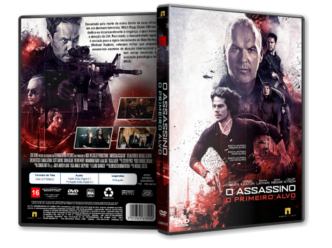 Capa DVD O Assassino: O Primeiro Alvo [Custom]