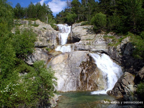 Cascada de Sant Espirit, Lago de Llebreta, Parque Nacional de Aigëstortes, Vall de Boi, Lleida