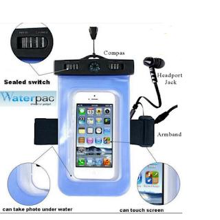 Bingo 3in1 Waterproof Case / Armband / Kompas for Smartphone 5.5 Inch