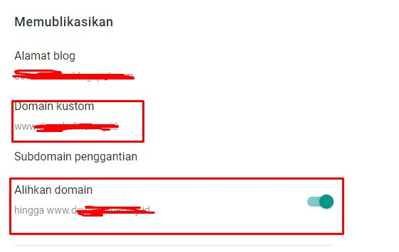 Domain Berashil di Setting IDCLoudhost