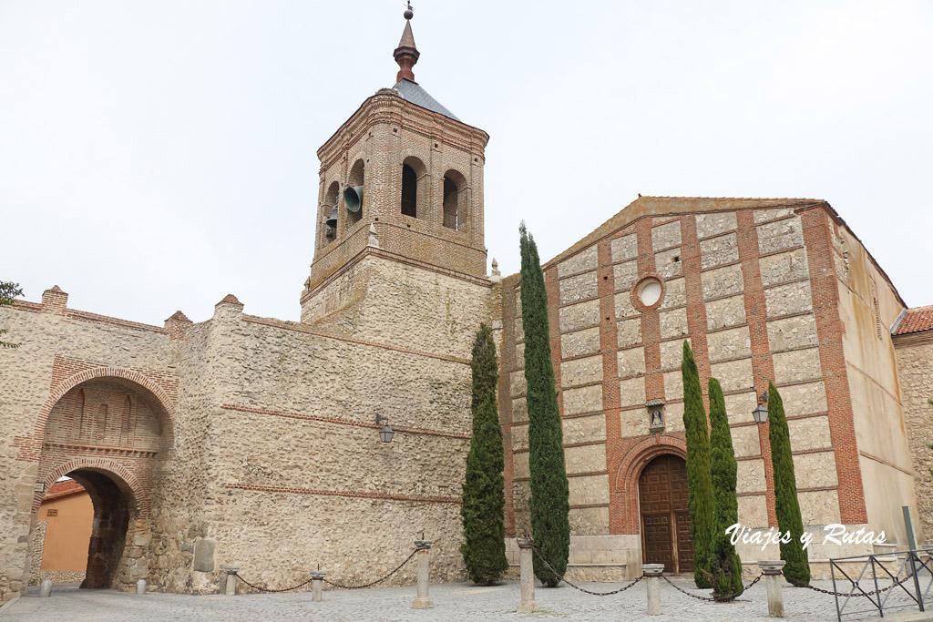 Iglesia y Puerta de San Miguel, Olmedo