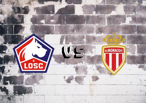 Lille vs AS Monaco  Resumen