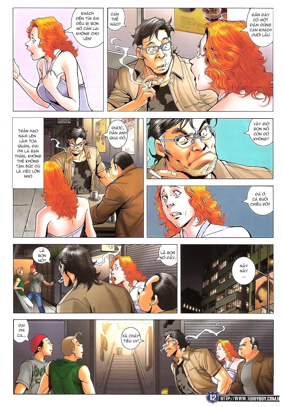 Người Trong Giang Hồ chapter 1645: làm khó đại b chảy trang 10