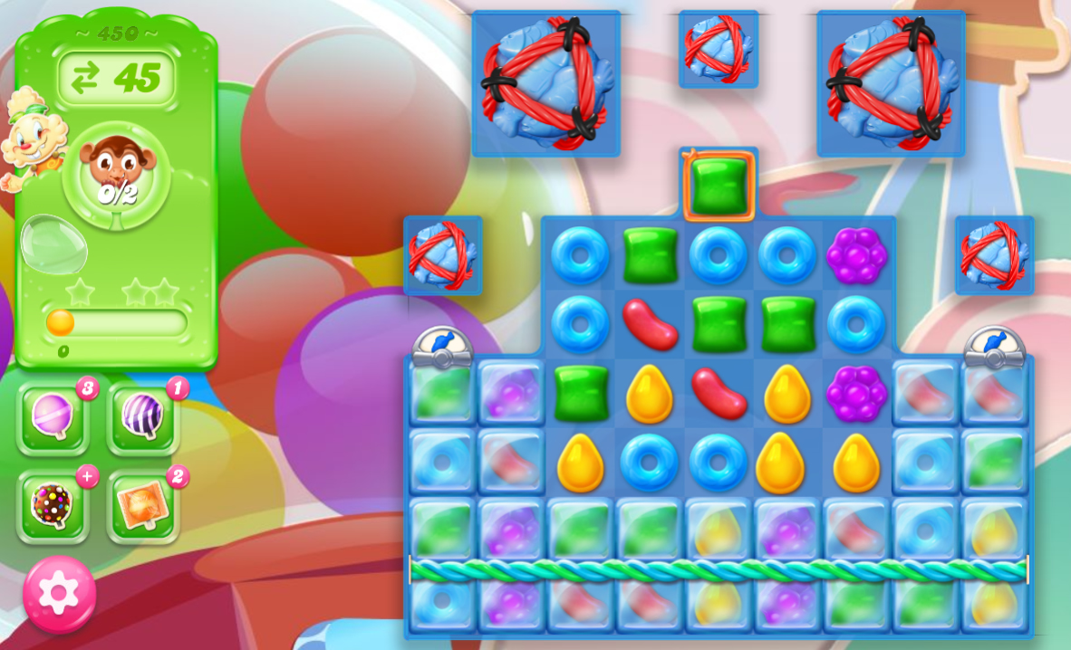Candy Crush Jelly Saga 450