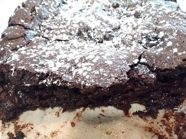 Brownie aux myrtilles