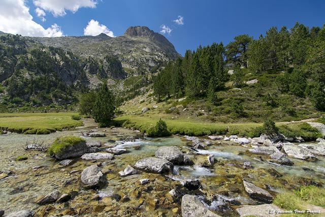 Rio en Plan de Aiguallut - Pirineos por El Guisante Verde Project