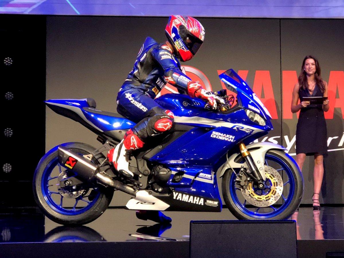 Begini penampakan Yamaha YZF R3 GYTR yang akan turun balap di WSSP 300 musim 2019 mendatang