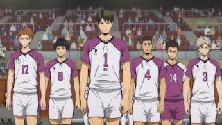 ハイキュー!! アニメ 3期8話   白鳥沢学園高校   Karasuno vs Shiratorizawa   HAIKYU!! Season3