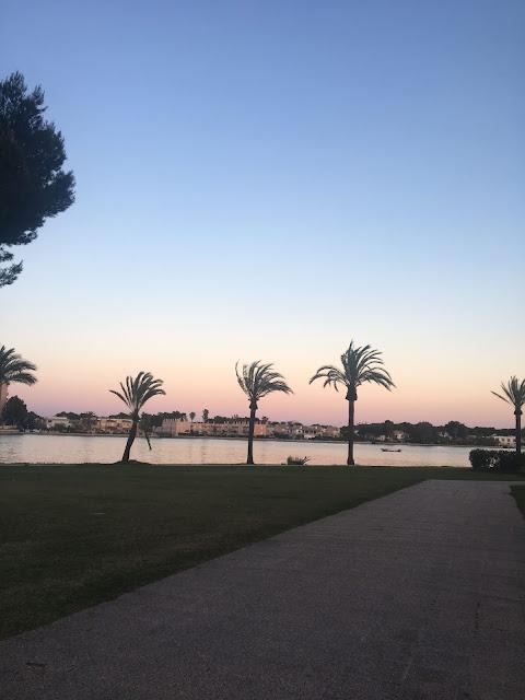 Mallorca travel diary Alcudia sunset