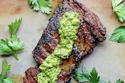 SKIRT STEAK MARINADE RECIPE WITH CHIMICHURRI