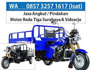 WA : 0857 32571617, Jasa Angkut Motor Roda Tiga dari Gedangan Sidoarjo