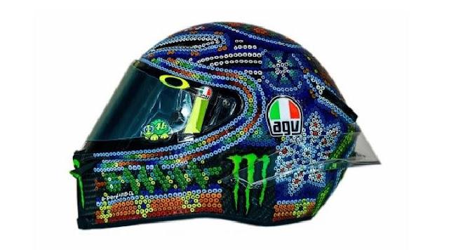 Helm Baru Valentino Rossi AGV Pista GP R