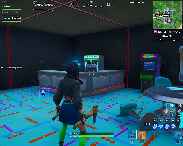 Found within an arcade FORTBYTE Mission #79