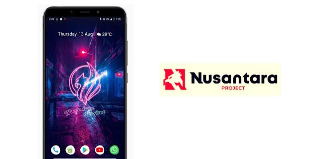 Nusantara Rom on Asus Zenfone Max Pro M1