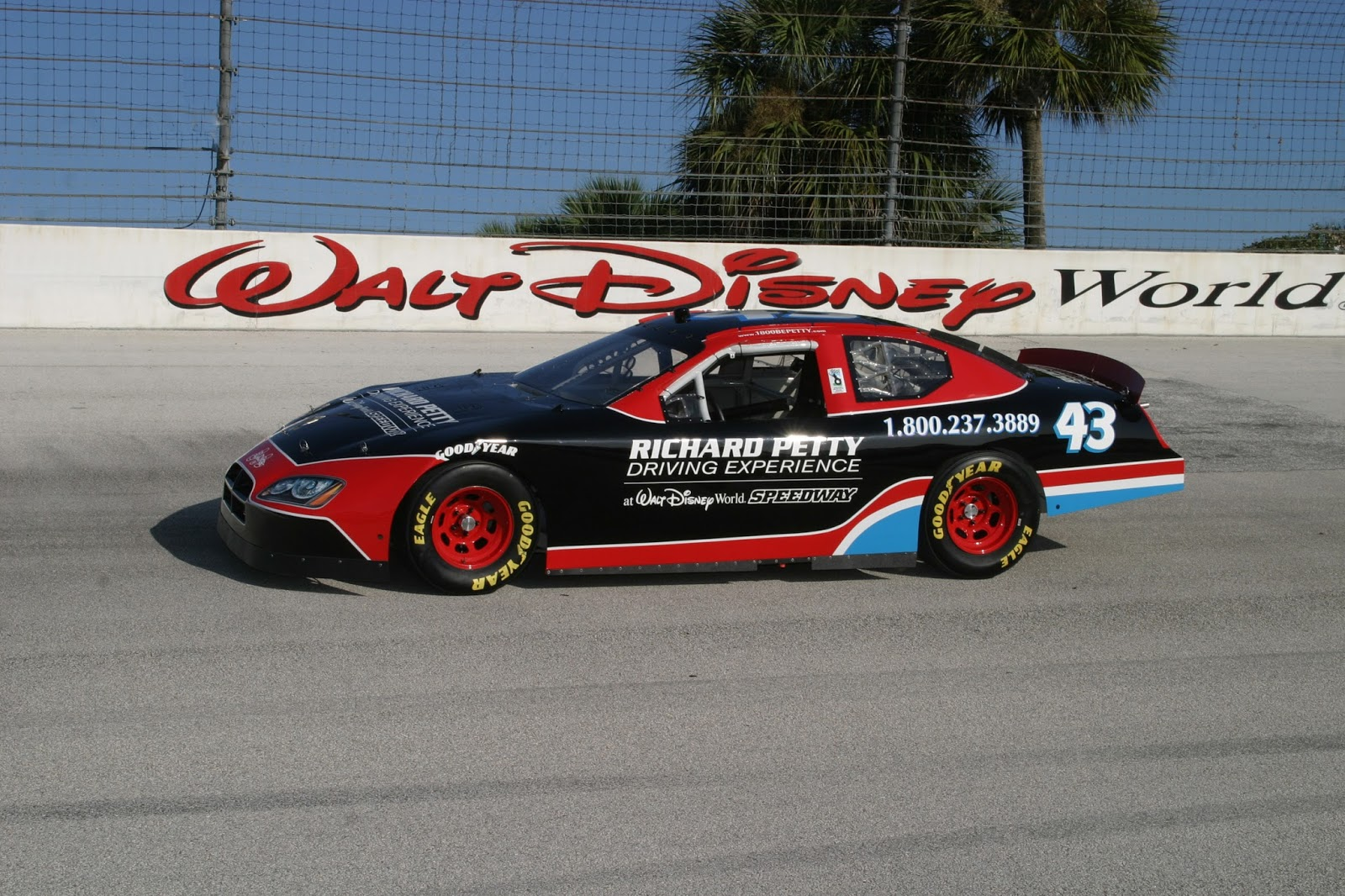 Richard Petty Driving Experience, Walt Disney World
