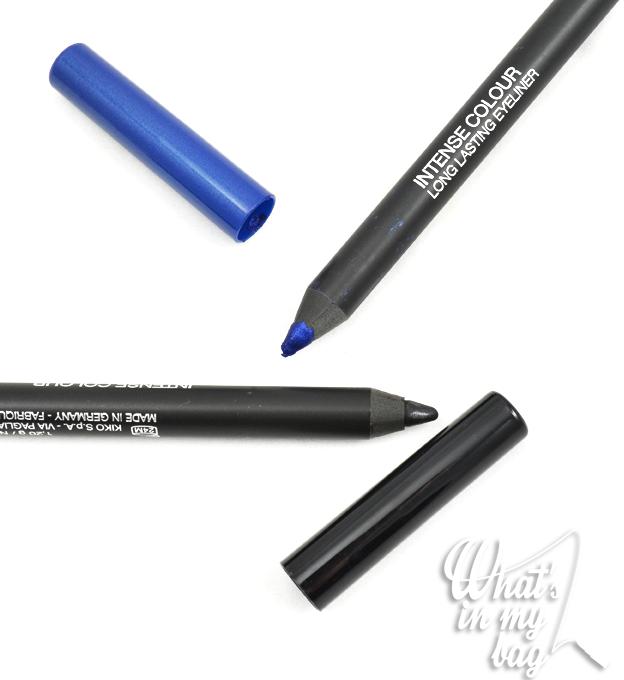 Kiko intense colour nera e blu