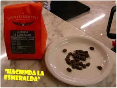 """Kopi """"Hacienda La Esmeralda"""" – Boquete, Panama."""