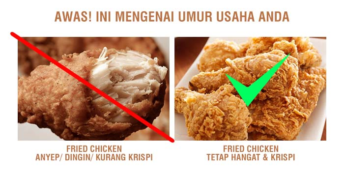 Tips Agar Fried Chicken tetap Hangat & Krispi