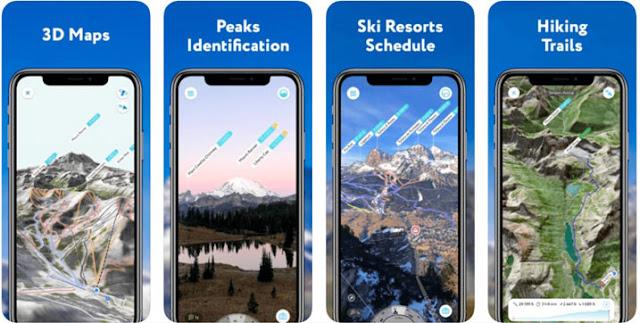 Peak Visor - تطبيق المشي الأكثر شعبية