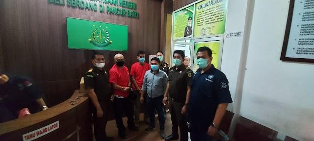 Pertama tahun 2020 di Sumatera Utara Penyidik Cabjari Pancur Batu menetapkan Kepala Desa Salabulan Tersangka Korupsi Dana Desa