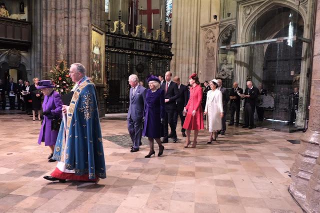 Nabożeństwo w Westminster Abbey z okazji Dnia Wspólnoty Narodów