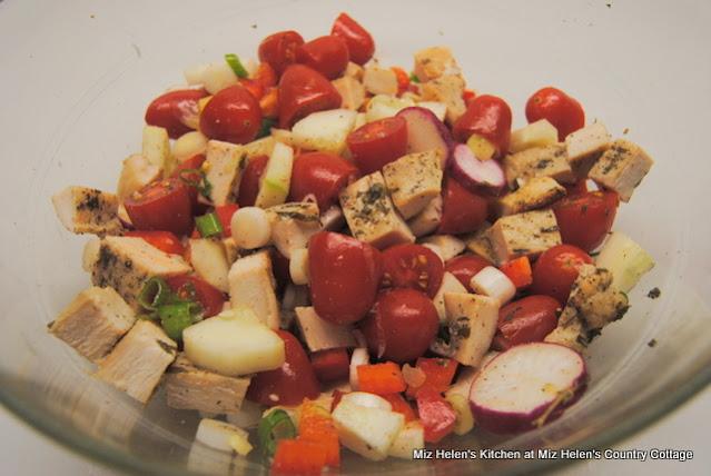 Lemon Herb Chicken Salad With Feta Dressing at Miz Helen's Country Cottage