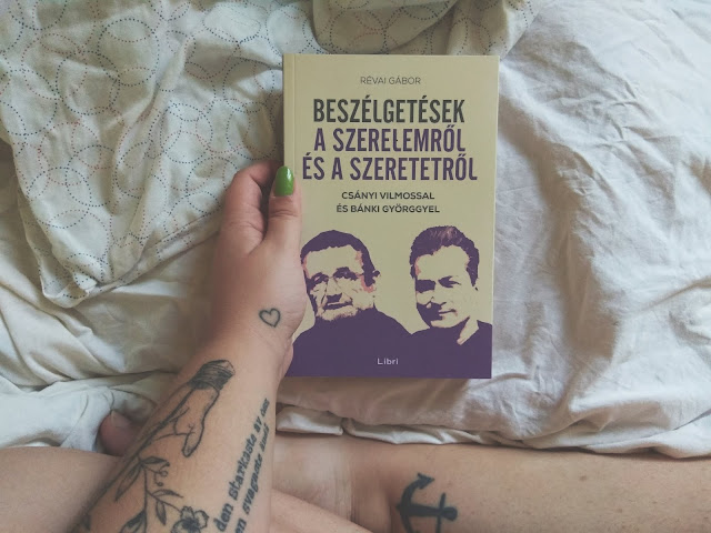 Révai Gábor – Beszélgetések a szerelemről és a szeretetről [Csányi Vilmossal és Bánki Györggyel] megjelent a Libri Könyvkiadó gondozásában, mely a Libri csoport tagja, saját kép, szerző: Tekla Könyvei