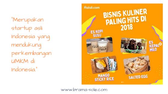 Ralali Startup asli Indonesia