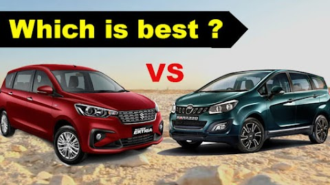 2019 Maruti Ertiga and Mahindra Marazzo :MPV comparison