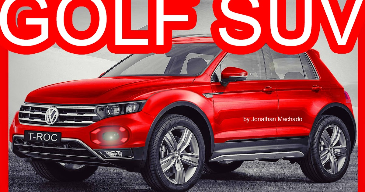 Novo Ford Focus 2018 >> CARWP: PHOTOSHOP Volkswagen T-Roc 2019 Novo Fox @ Golf SUV ...