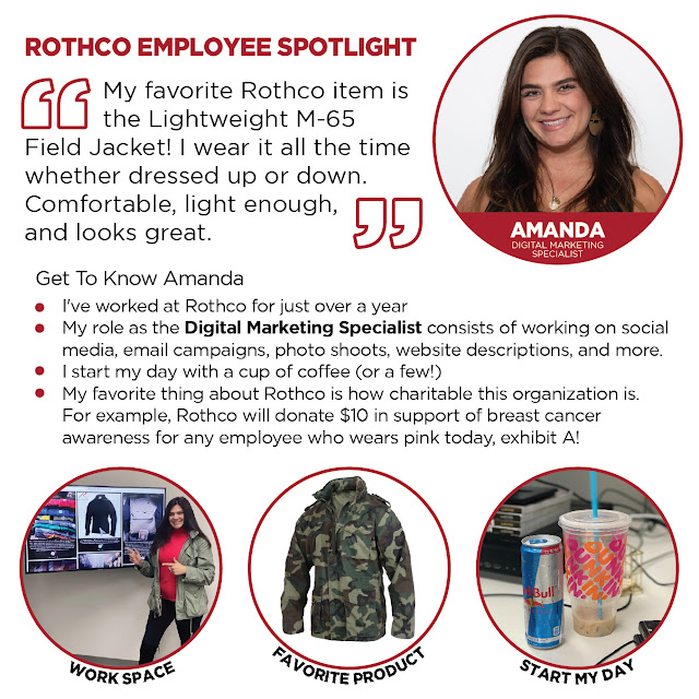 Rothco Employee Spotlight - Meet Amanda