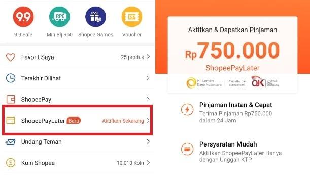 Kenalan Dengan Shopee Pinjam Atau Paylater Melex Indonesia