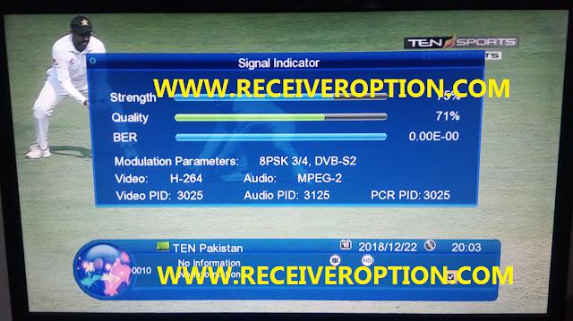 GX6605S HARDWARE VERSION HW203.00.013 POWERVU KEY NEW SOFTWARE