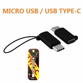 ADATTATORE MICRO USB TYPE-C CONVETITORE