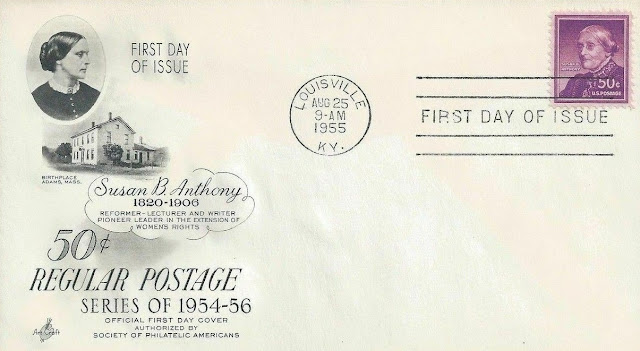 Susan B Anthony,liberty FDC