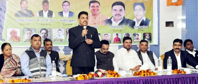 BJP workers celebrate Baba Saheb's sacrifice as Mahaparinirvana day