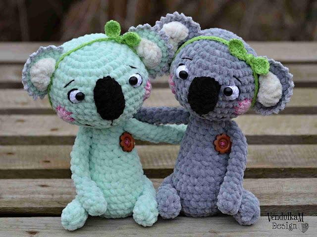 Amigurumi koala by VendulkaM - crochet pattern